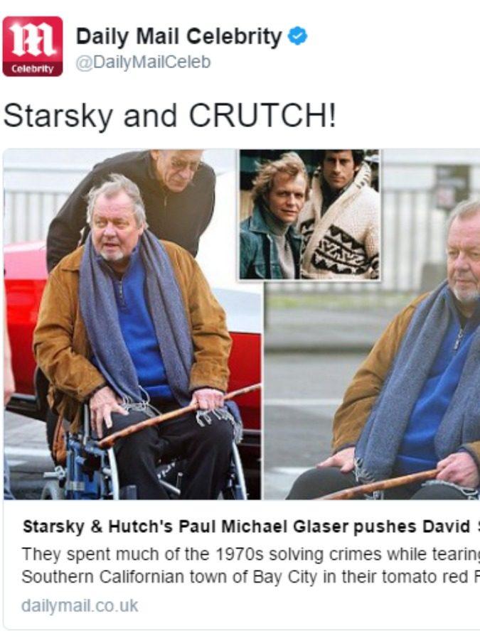 Starsky & Hutch per sempre uniti, la foto che commuove i fan