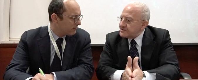 """De Luca: """"Il fuorionda in cui parlo di De Magistris? È camorrismo giornalistico"""""""