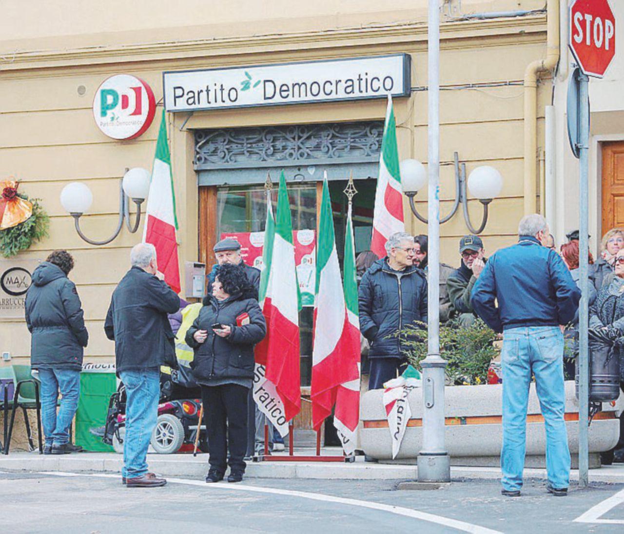 A Scandicci e Rignano è tutto chiuso, anche la sede del Partito democratico