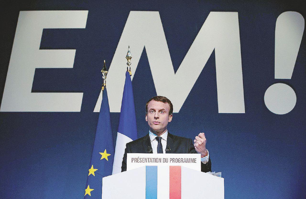 """Io Macron, liberal-socialista sarò il baluardo anti-Le Pen"""