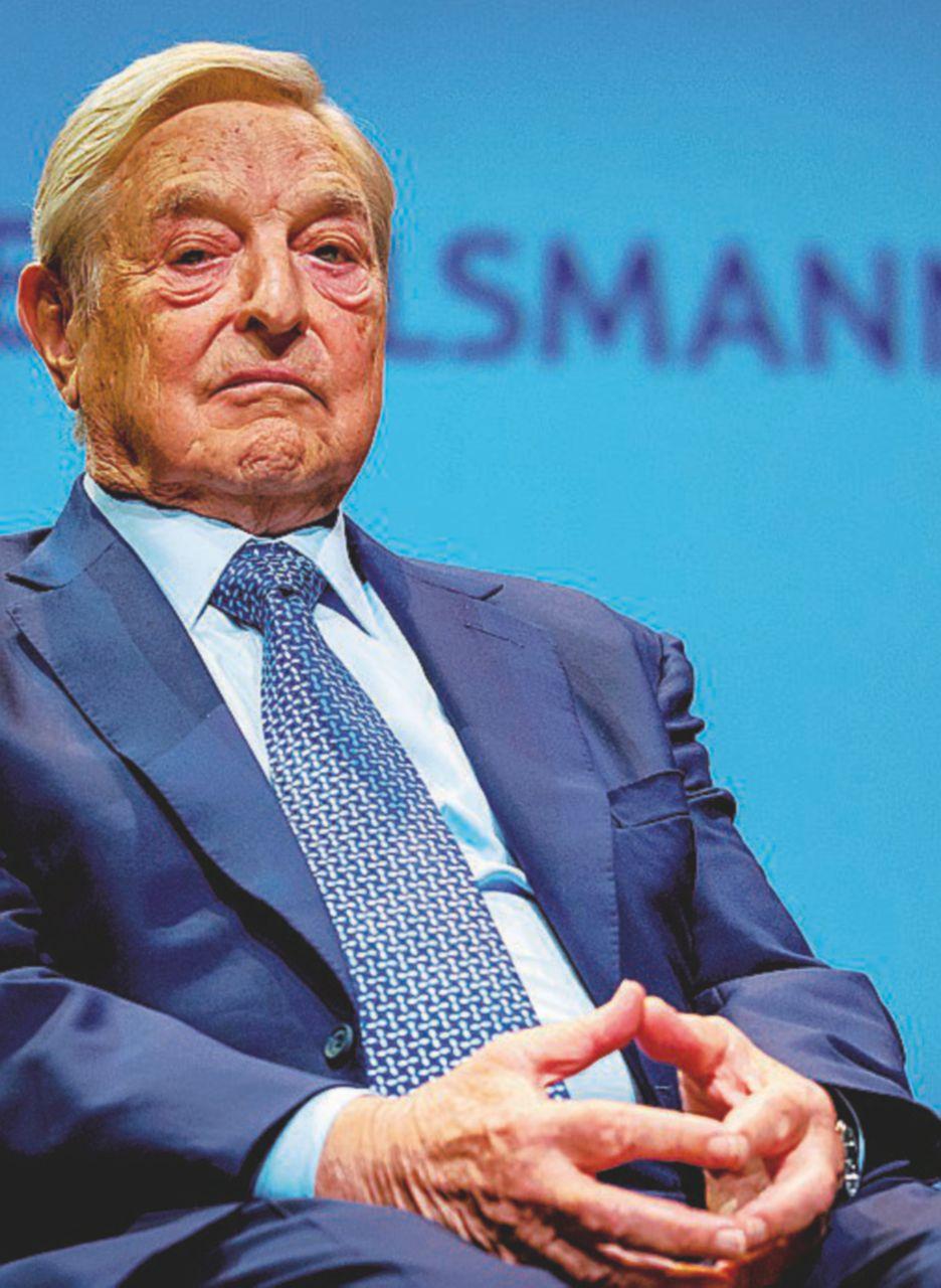 Il magnate Soros e la trattativa per la Roma
