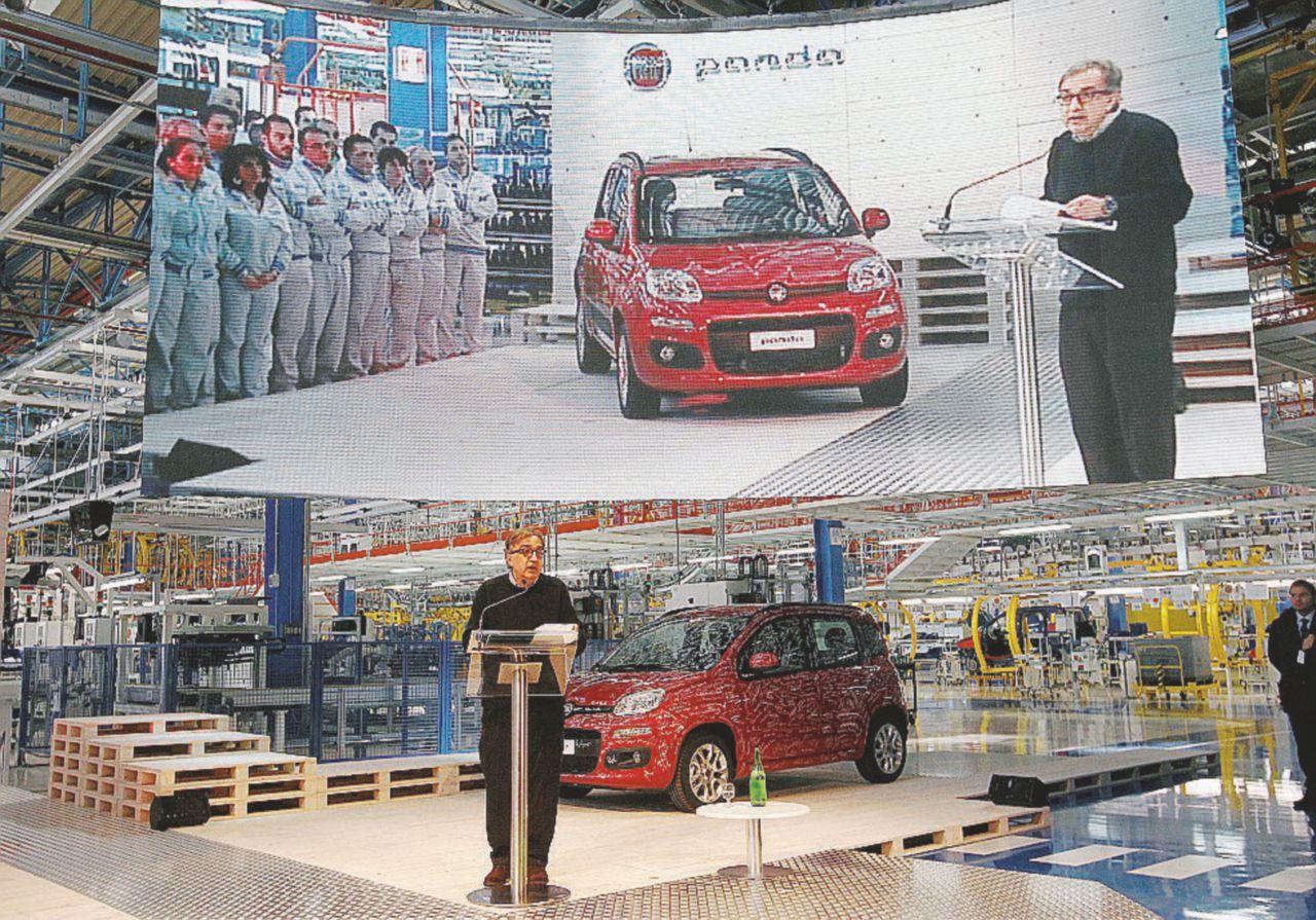 Fiat,  Marchionne porta via dall'Italia anche la Panda