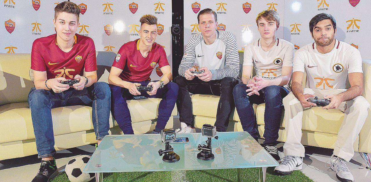 Nicolò, pagato dalla Roma per giocare alla Playstation