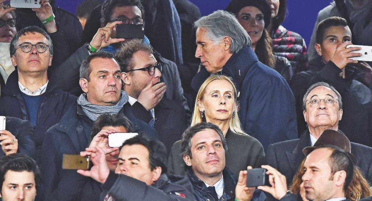Cantone e Lotti fianco a fianco. Allo stadio