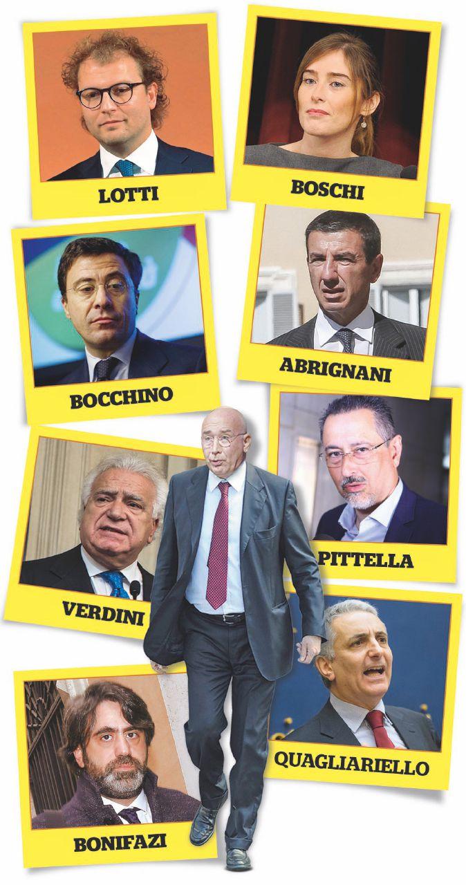 In Edicola sul Fatto Quotidiano del 10 marzo: tutti i nomi dell'agenda Romeo