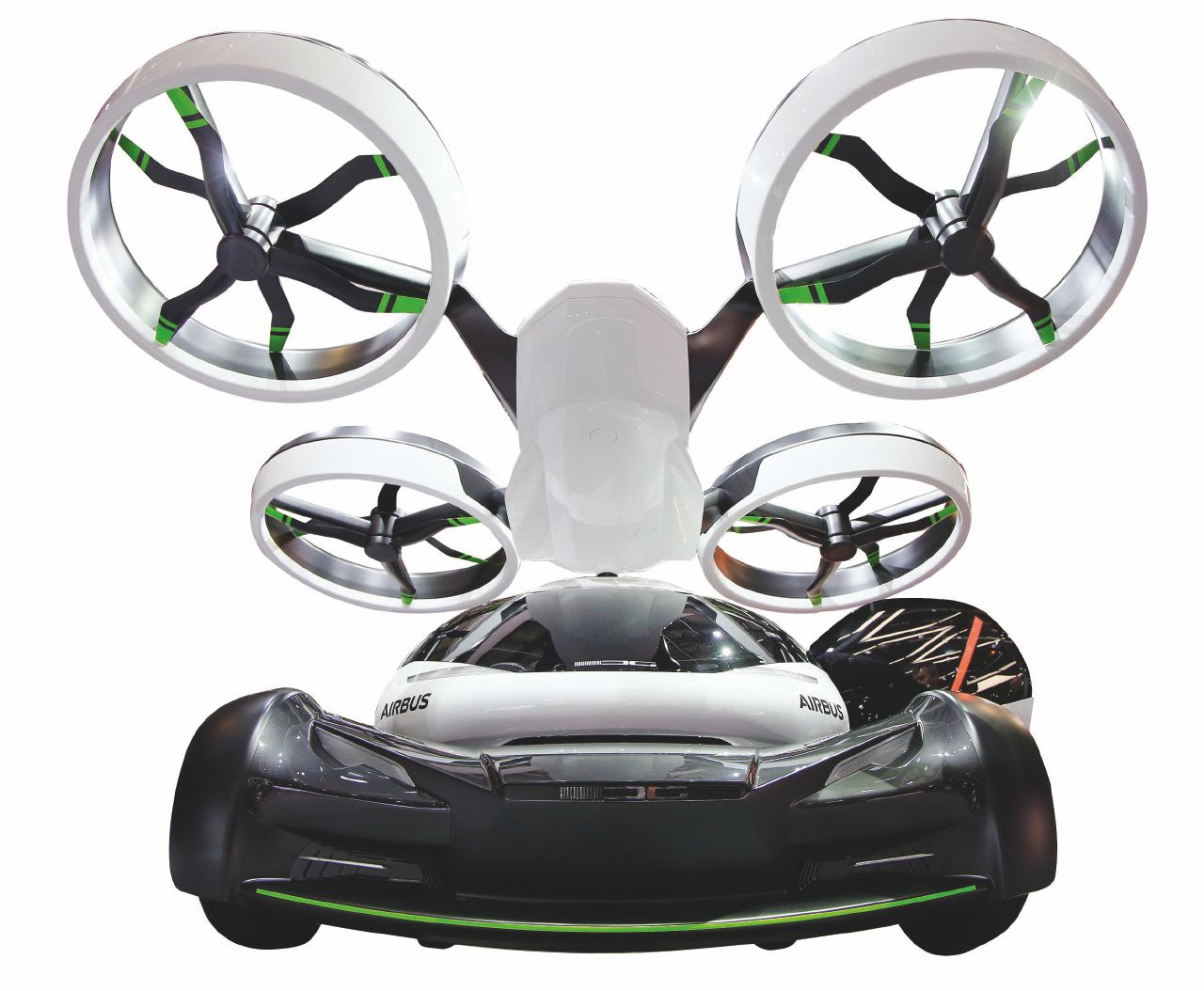 Benvenuti nel futuro: l'auto drone che sa volare