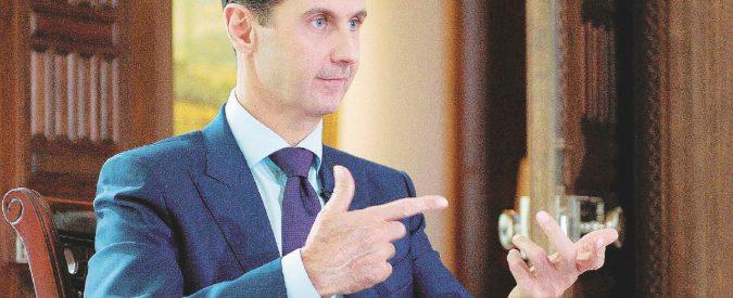 "Bashar Al Assad: ""Jihadisti colpa dell'Europa. I diritti umani? Un lusso"""