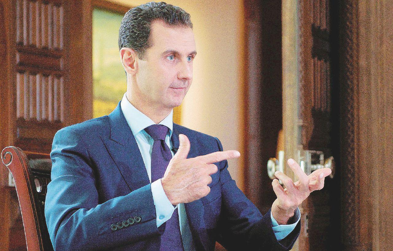 """In Edicola sul Fatto del 14 marzo: Assad: """"Dobbiamo sconfiggere nemici e ribelli, poi parleremo di politica"""""""