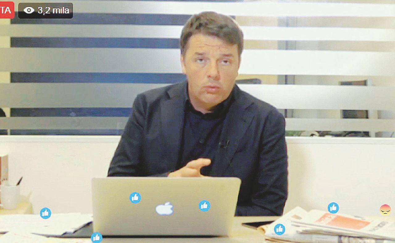 Il sito di Renzi: opaco e gestito a Palazzo Chigi