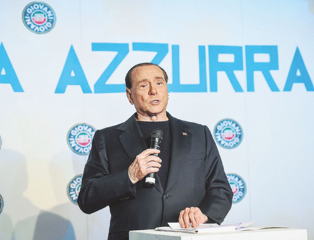 """Garantisti Forza Pd: si scrive """"Minzo"""", si legge Berlusconi"""