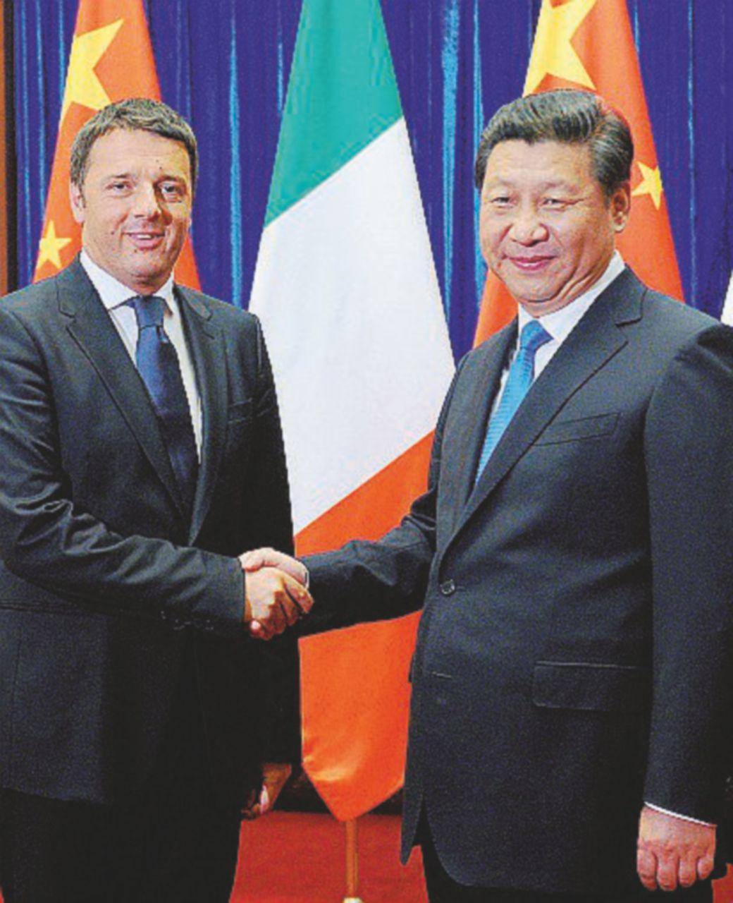 """Il """"prestanome"""" del boss in Cina con Renzi"""
