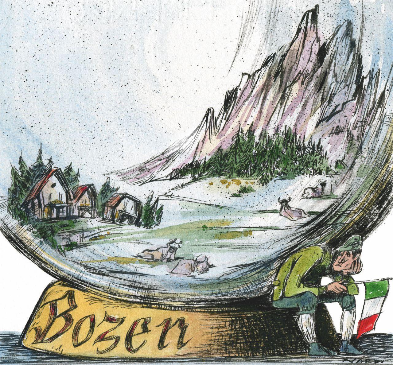 Alto Adige, il tricolore si ritira da Bolzano