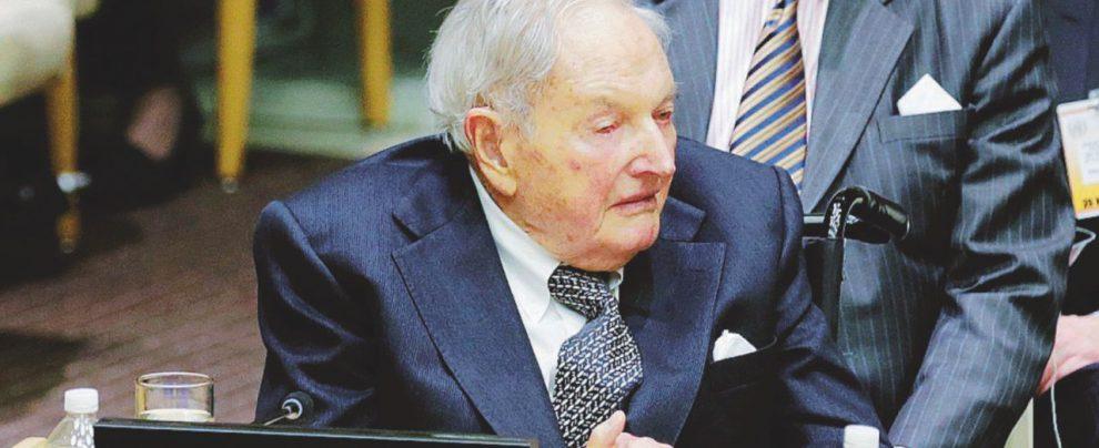 "Rockefeller, ""antagonista"" illuminato di Trump"