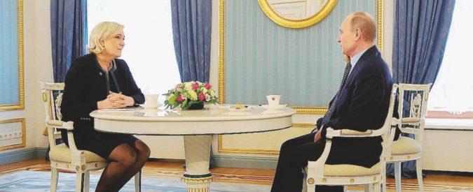 """Putin la volpe: """"Non tramo per la Le Pen"""""""