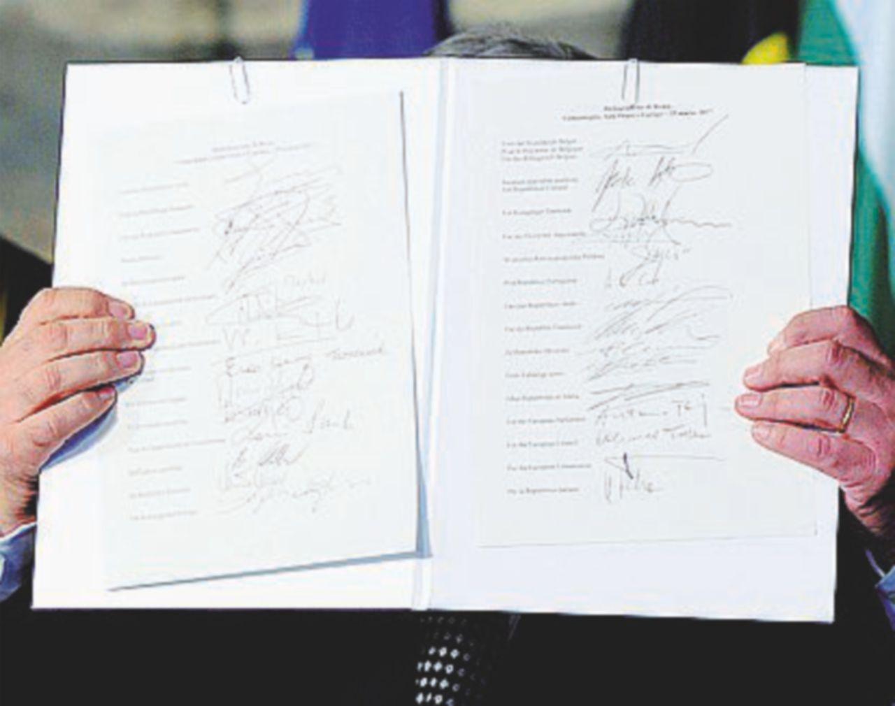 La Dichiarazione: quel poco d'Europa che tutti approvano