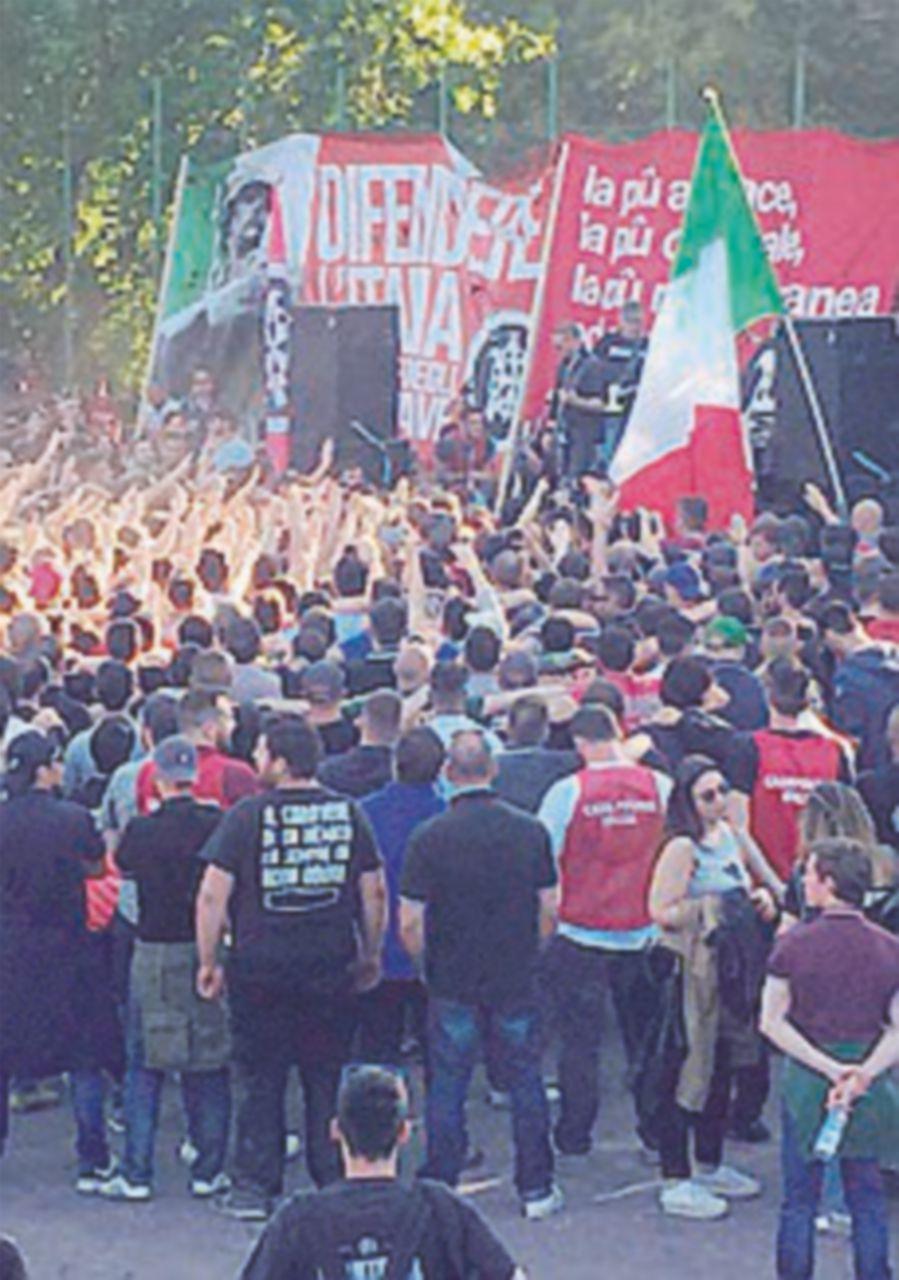 Centri sociali, 4 fermi per le manifestazioni contro Casapound