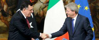 """Libia, vice di Al Sarraj sconfessa l'accordo con l'Italia sulla missione navale: """"Viola la nostra sovranità, Onu intervenga"""""""