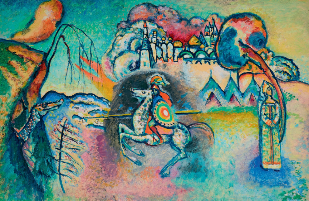 Apre mostra di Kandinsky a Milano: