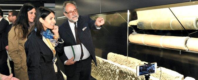 """Roma, Raggi frena la Metro C: """"La tratta fino al Colosseo? Ci sono anche i tram. Non dimenticare ritardi e costi lievitati"""""""