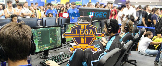 Lega Prima – Romics: alla fiera del fumetto di Roma le finali del campionato italiano di League of Legends