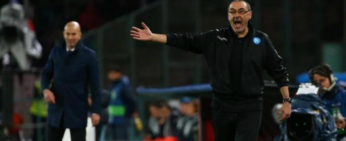 """Napoli-Real Madrid 1-3, Maurizio Sarri: """"Iniezione di fiducia"""" – VIDEO"""