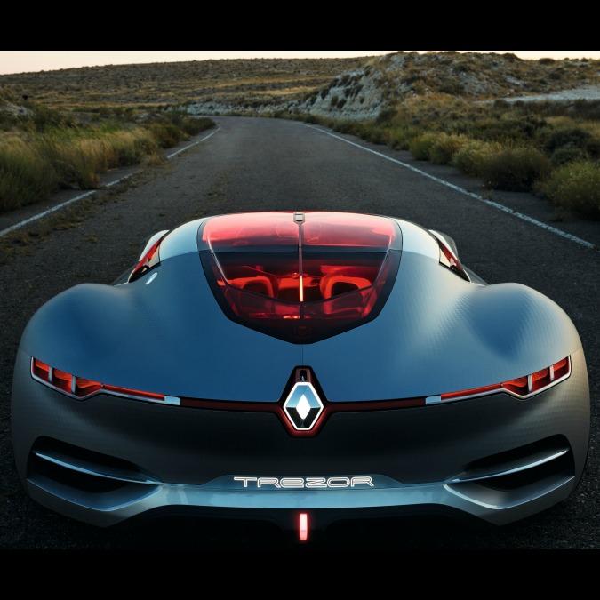 Renault Trezor vince il titolo di Concept dell'Anno 2016