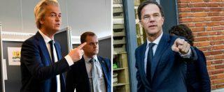 """Elezioni Olanda, Wilders: """"Vincerò in ogni caso. Tutti parlano dei nostri temi"""". Rutte: """"Possiamo fermare il populismo"""""""