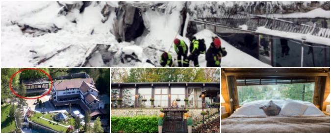 """Hotel Rigopiano, la denuncia degli ambientalisti: """"Tanti abusi edilizi ignorati. Suite da 1.600 euro a notte? Un deposito"""""""