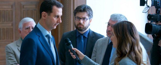 Assad, meglio un'intervista a un dittatore che un post su Facebook