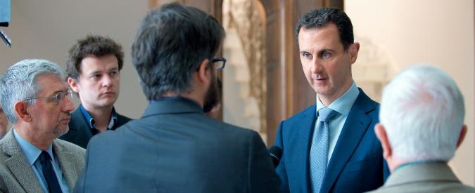 """Intervistare Assad a Damasco: niente taccuino, due domande """"anzi una"""" a testa. """"E lasciate lo smartphone in hotel"""""""