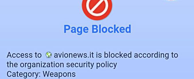 """Fiumicino, bloccato l'accesso al sito di news sull'aeronautica. """"Colpa di un software"""". """"Ostracismo, denunceremo"""""""