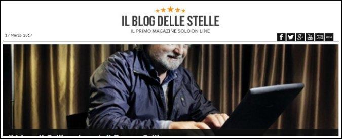 Blog Grillo, nessuna responsabilità giuridica