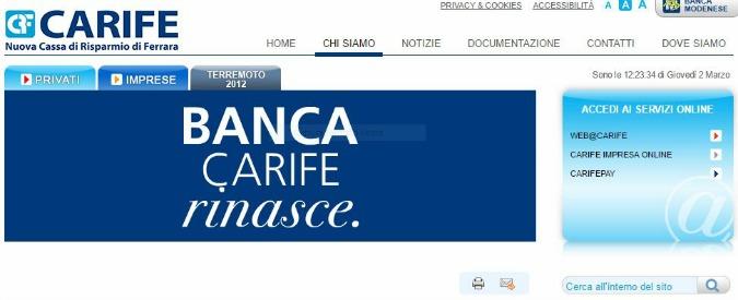 Cariferrara, c'è l'accordo: la compra Banca popolare dell'Emilia Romagna. Taglierà dipendenti e sportelli