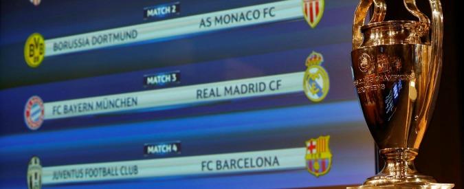 Sorteggio quarti di Champions League: la Juventus pesca il Barcellona. Andata a Torino, ritorno in Spagna