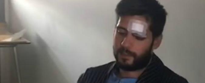 video ragazzo down picchiato torino