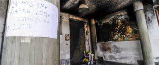 Clochard bruciato vivo, vittima e omicida mangiavano insieme alla mensa dei poveri