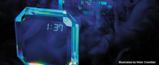 Ecco il cristallo temporale, si ripete nello spazio e nel tempo