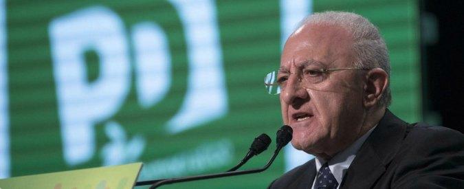 """Vincenzo De Luca definisce """"chiattona"""" la consigliera del M5s. Di Maio: """"È un cafone, oltrepassato il limite"""""""