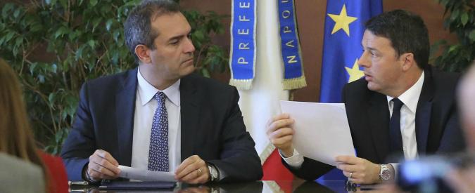 Luigi De Magistris e Matteo Renzi, tribuni della plebe per stolti