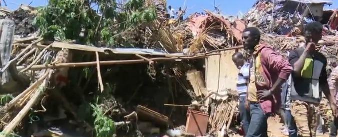 Etiopia, frana nella discarica di Addis Abeba: 46 persone morte sepolte dai rifiuti
