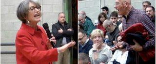 """Pd, militante disperato alla Finocchiaro: """"Miei figli votano M5s"""". Lei feroce contro i grillini, ma su Minzolini fa scena muta"""
