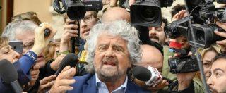 """Reporters sans frontières, Grillo: """"Sistema informativo è marcio? La colpa è mia"""""""