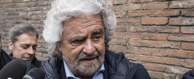 """M5s, Beppe Grillo: """"L'esposto Pd sull'evasione fiscale del blog? Si rimangeranno le loro accuse infamanti"""""""