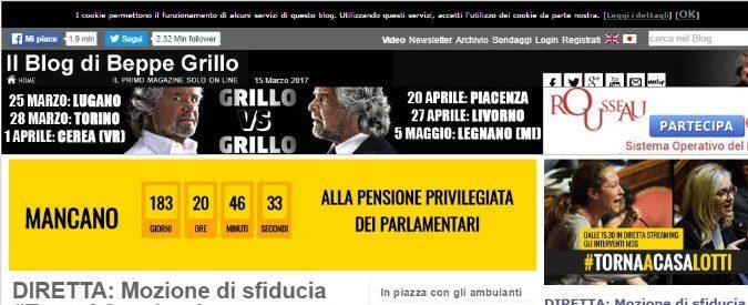 Blog, accusa di diffamazione per post non firmato: perché la responsabilità non è di Grillo
