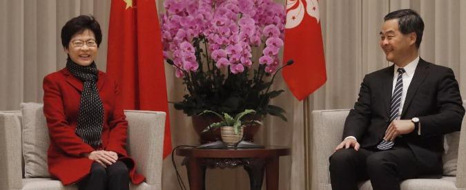 Hong Kong, una donna governatrice. Carrie Lam scelta da Pechino tentò mediazione con il movimento degli studenti nel 2014