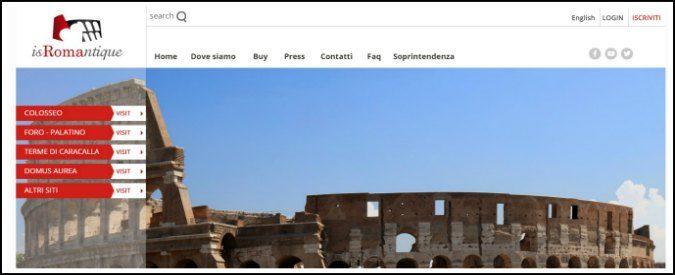 Roma, online il sito per il Colosseo e l'area archeologica. Ma la nuova grafica è già vecchia
