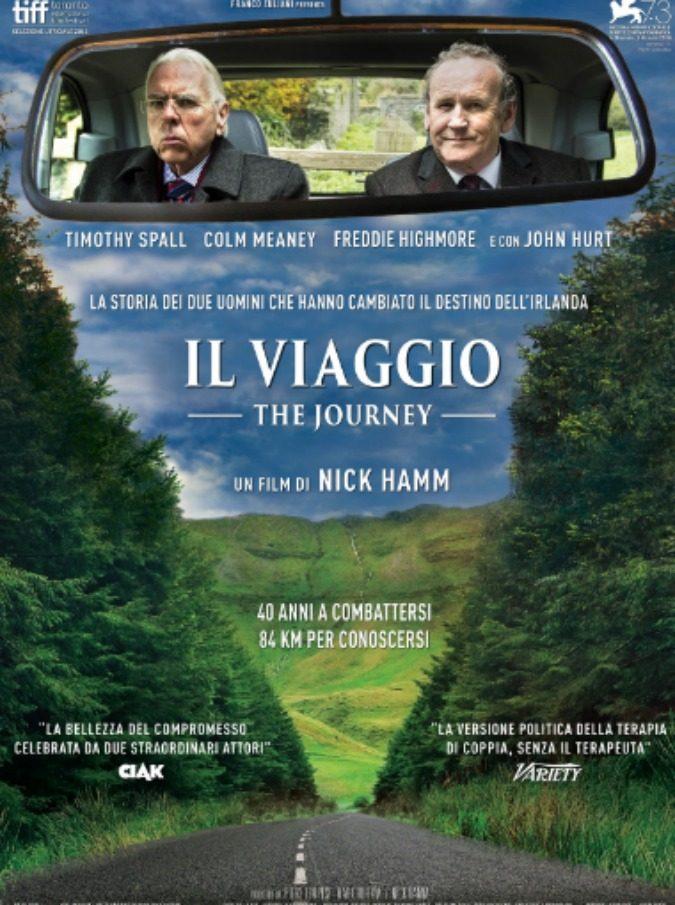 Il Viaggio -The Journey, la straordinaria storia di due leader nord-irlandesi al cinema: il trailer in esclusiva