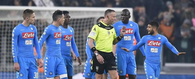 """Juventus-Napoli, il post-partita fra rigori, polemiche e tweet. Partenopei furiosi: """"Decisioni vergognose, fa male al calcio"""""""