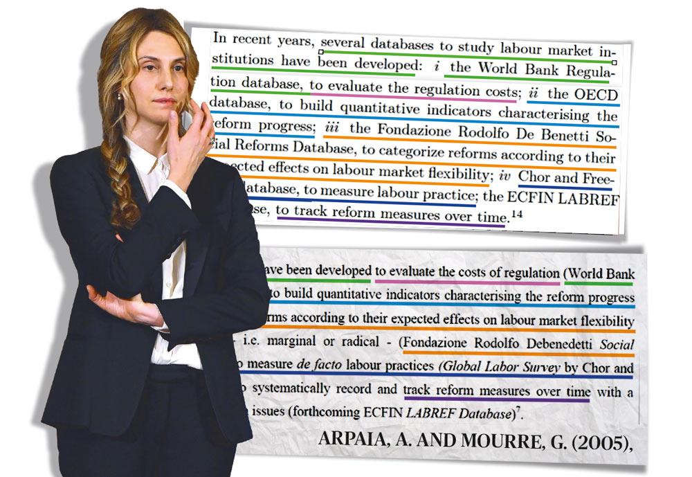 Madia, dottorato con 4 mila parole copiate nella tesi