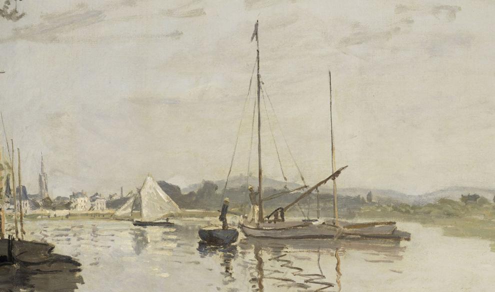 Claude Monet Argenteuil, 1872 Olio su tela, 50 x 65,3 cm Parigi, Musée d'Orsay © René-Gabriel Ojéda /  RMN-Réunion des Musées Nationaux/ distr. Alinar